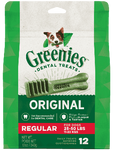 Greenies Dog Regular Dental Chews 12pcs x 12oz
