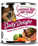 Daily Delight Luscious Beef & Veggy 700g x6