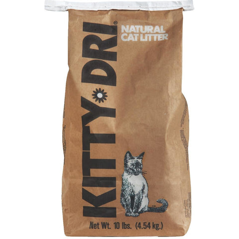 Kitty Dri Natural Cat Litter 10lbs