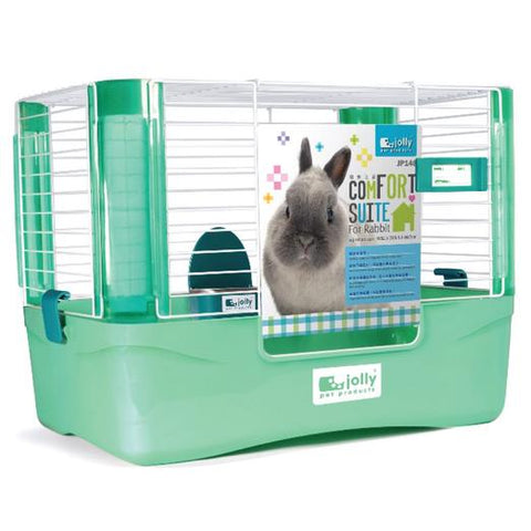 Jolly Pet Comfort Suite Rabbit Cage Blue (Small)