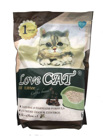 Love Cat Tofu Litter Coffee 6L