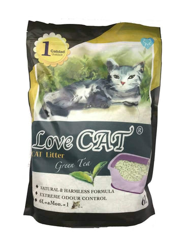 Love Cat Tofu Litter Green Tea 6L