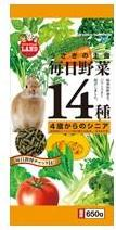 Marukan Daily Veggies 14 Senior For Rabbit 650g