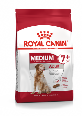 Royal Canin Medium Adult 7+ Dry Food 10Kg for Dog