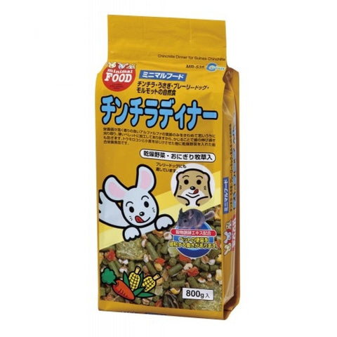 Marukan Chinchilla Dinner Mix Fruit 800g