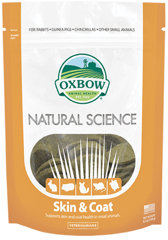 Oxbow Natural Science Skin & Coat (60 ct)