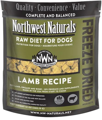 Northwest Freezed Dried Lamb Dog 12oz