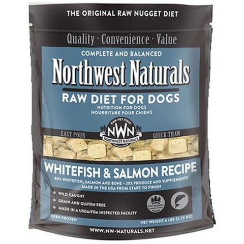 Northwest Freezed Dried Whitefish & Salmon Dog 12oz