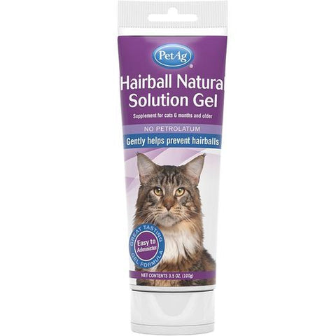 PetAG Cat Hairball Solution Gel 3.5oz