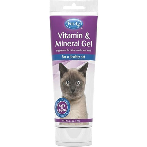 PetAG Cat Vitamin Mineral Gel 100g