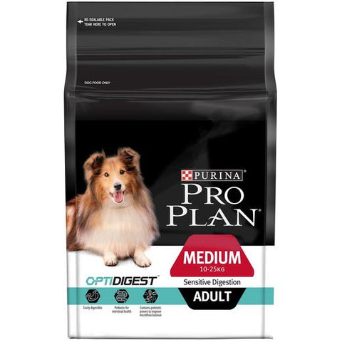 PRO PLAN Medium Adult Sensitive Digestion with OPTIDIGEST 2.5KG