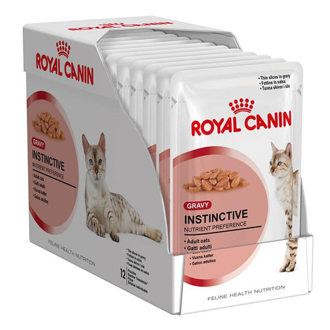 Royal Canin Instinctive Food Pouch 12 x 85g