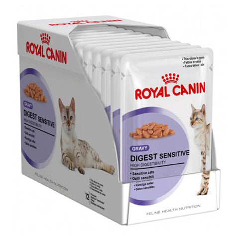 Royal Canin Digest Sensitive Food Pouch 12 x 85g