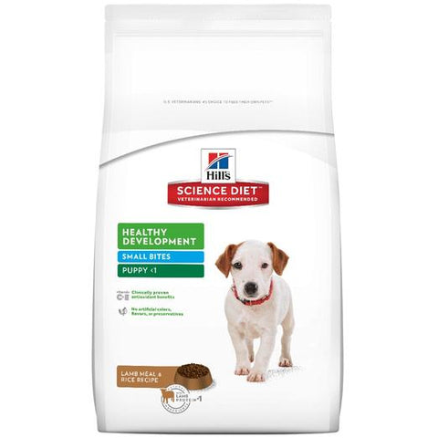 Science Diet Puppy Lamb & Rice Small Bites 3kg