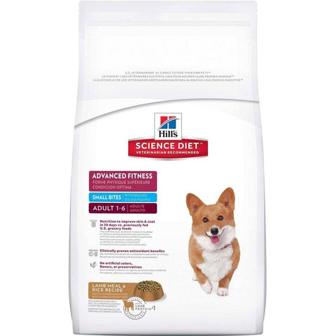 SCIENCE DIET CANINE ADULT LAMB & RICE SMALL BITE 15KG
