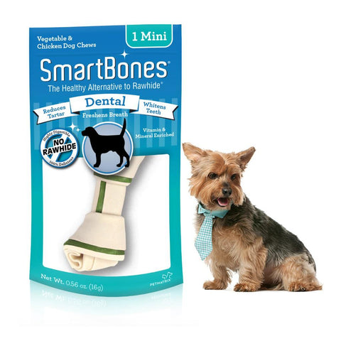 SmartBones Dental Mini Sticks 1s x 4 Packs