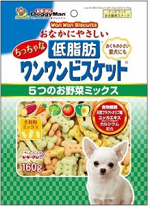 Doggyman Low Fat Tiny Bowwow Biscuit 160g