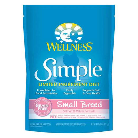 Wellness Simple Small Breed Salmon 4lbs