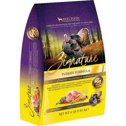 Zignature Turkey Formula 4lbs