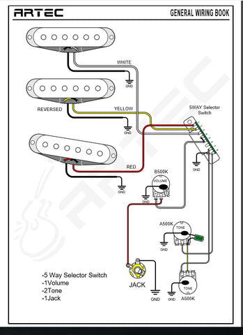 artec & giovanni pickup wire color code and wiring diagram  color coded stratocaster wiring diagram #5