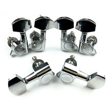 Load image into Gallery viewer, Wilkinson Tuners WJN-01 L3+R3 Guitar Machine Heads Tuning Pegs Chrome