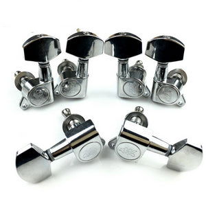 Wilkinson Tuners WJN-01 L3+R3 Guitar Machine Heads Tuning Pegs Chrome