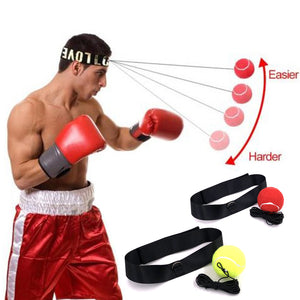 Fight Ball Lomachenko Punching Ball Boxing Equipment Training Apparatus Muay Thai Boxing Trainer Accessories Speed Fast Ball Gym