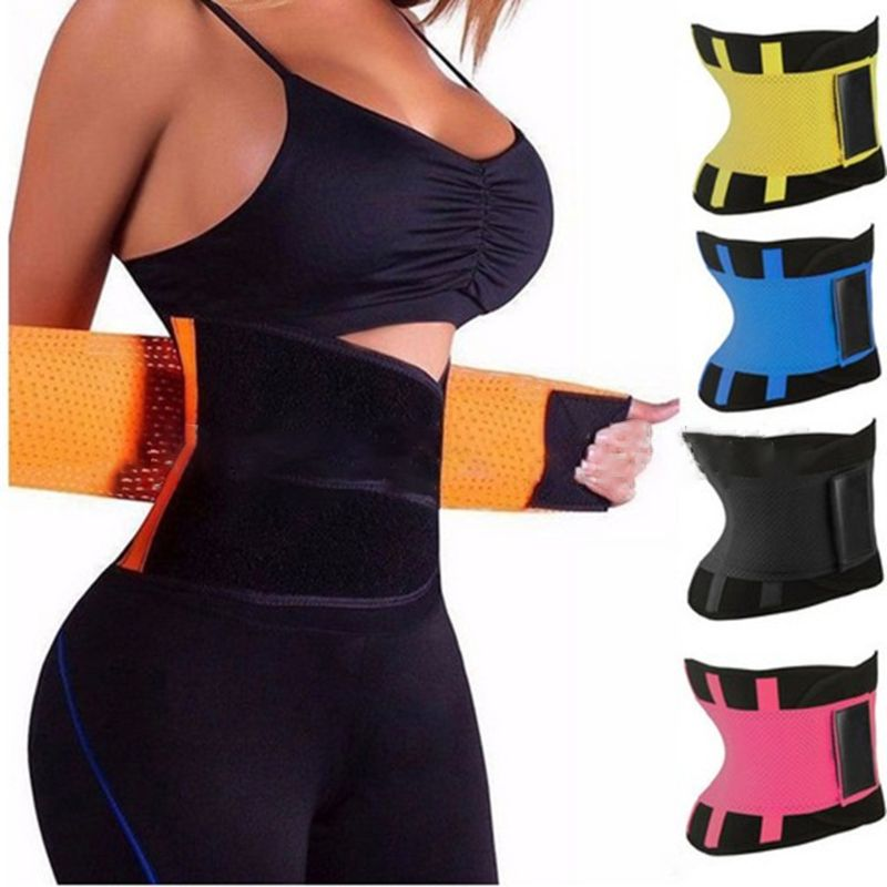 Women Waist Trainer Corset Abdomen Slimming Body Shaper Sport Girdle Belt Exercise Workout Aid Gym Home Sports Daily Accessory