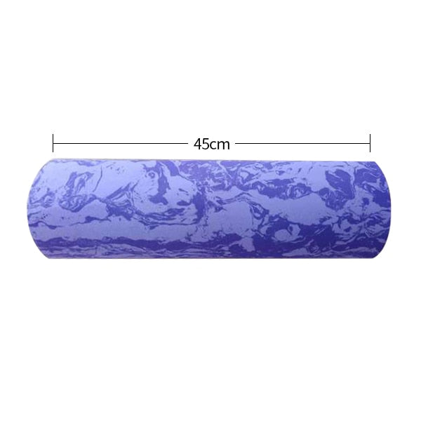 60/45cm Yoga Block Pilates Foam Roller Trigger Point Massage Roller Muscle Tissue for Fitness Gym Yoga Pilates Sports