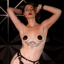Load image into Gallery viewer, Leather Nipple Pasties