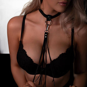 Leather Whip Necklace