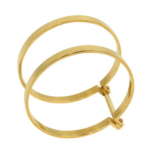 Handcuff Bangle 18k Gold
