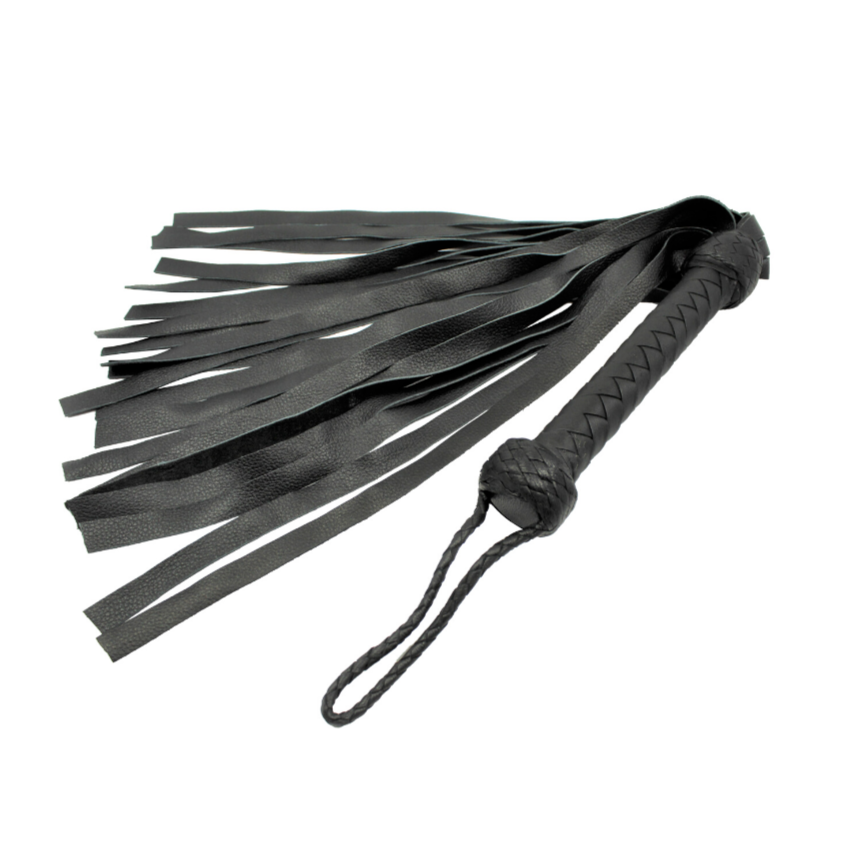 flogger whip, BDSM whip, Leather whip