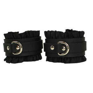 Frilly Cuffs Silver