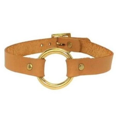 O Choker Tan-Gold