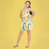 Lemonade pop halter neck dress