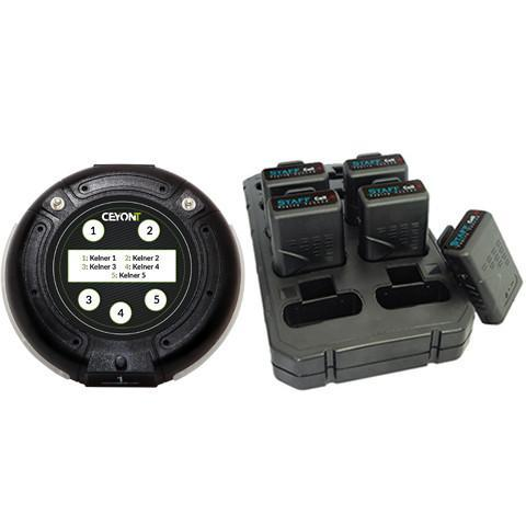 5 Button Call Unit & 5 Pagers A1