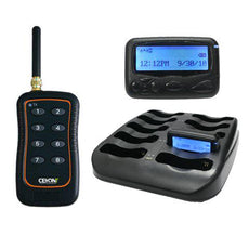 Eight Button Call Unit & 8 Text Pagers A3