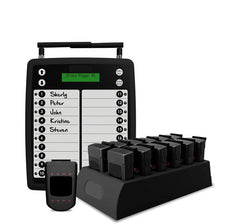 20 Button Call Unit & 10 Pagers A1
