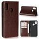 Luxury Genuine Leather Wallet Flip Case Cover For Xiaomi Mi 8 (1)