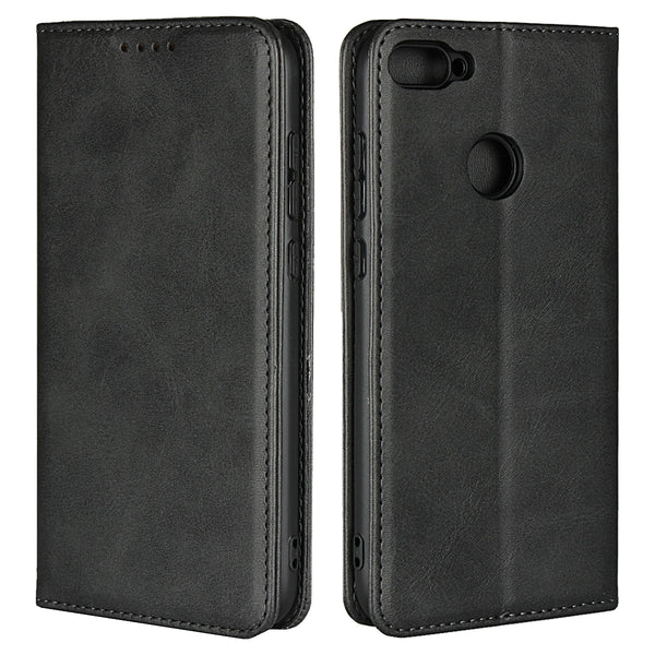Leather Phone Cases Flip Wallet Case Cover For Huawei Honor 10 lite