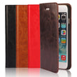 Luxury Genuine Leather Wallet Flip Case Cover For iPhone 6 Plus / 6s Plus (1)