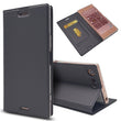 Luxury Slim Flip Leather Case For Sony Xperia XZ Premium (5)