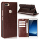 Luxury Genuine Leather Wallet Flip Case Cover For VIVO X20 Plus (1)