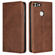 Leather Phone Cases Flip Wallet Case Cover For Huawei P smart
