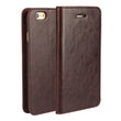 Luxury Genuine Leather Wallet Flip Case Cover For iPhone 6 Plus / 6s Plus (2)