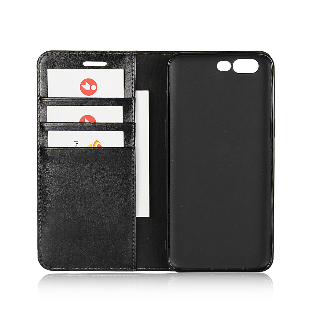 new style ca8e8 6bda0 Luxury Genuine Leather Wallet Flip Case Cover For OnePlus 5 – iCoverCase