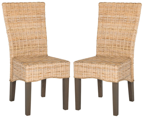 OZIAS 19''H WICKER DINING CHAIR