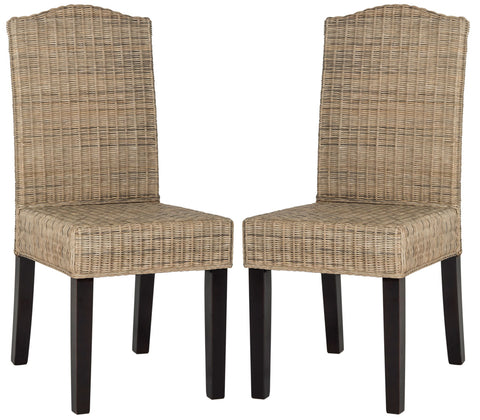 ODETTE 19''H WICKER DINING CHAIR