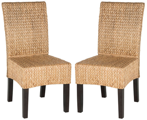 LUZ 18''H WICKER DINING CHAIR